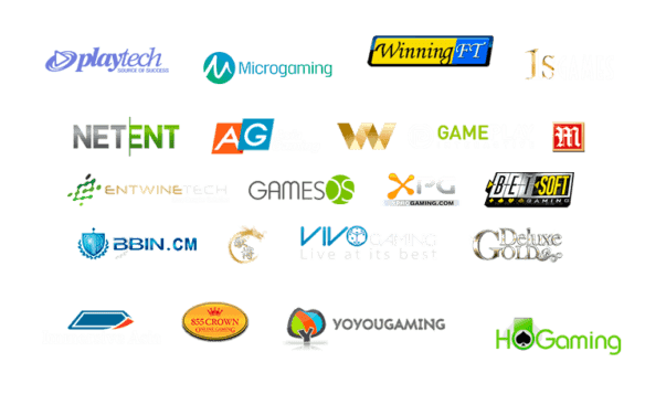 De bästa spelleverantörer av casinospel för den svenska online casinomarknaden