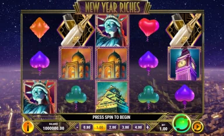 playngo new year riches video slot